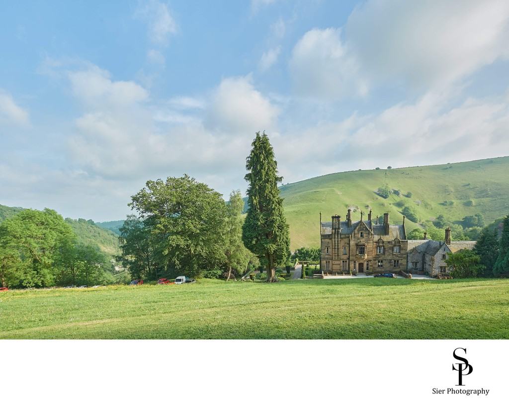 Cressbrook Hall Derbyshire Wedding Venue
