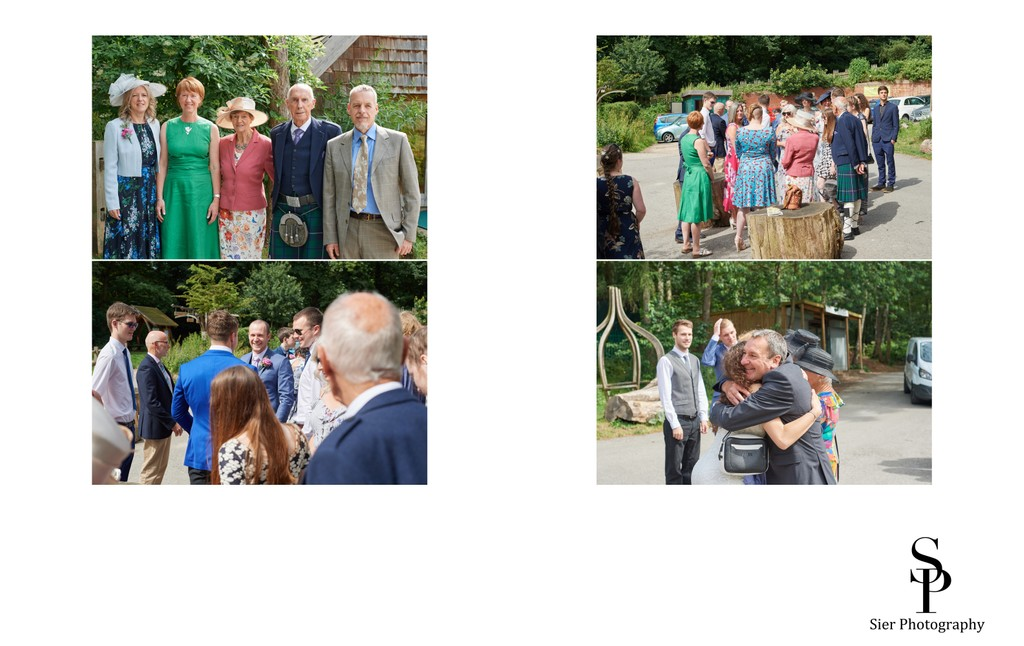 Ecclesall Woods Discovery Centre Wedding Guests