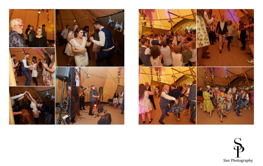 Woodthorpe Hall Wedding Ceilidh