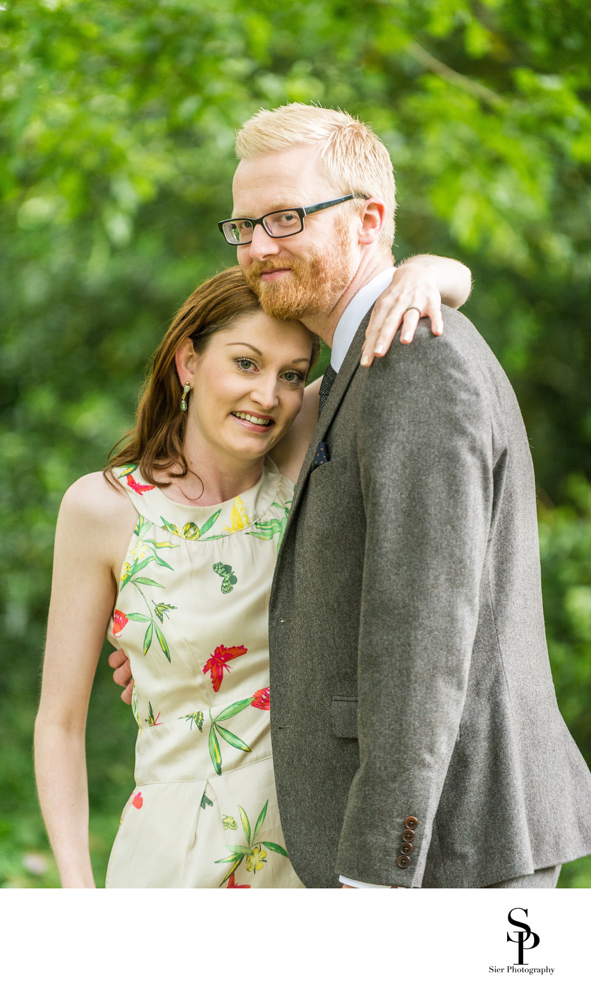Botanical Gardens Engagement Photography