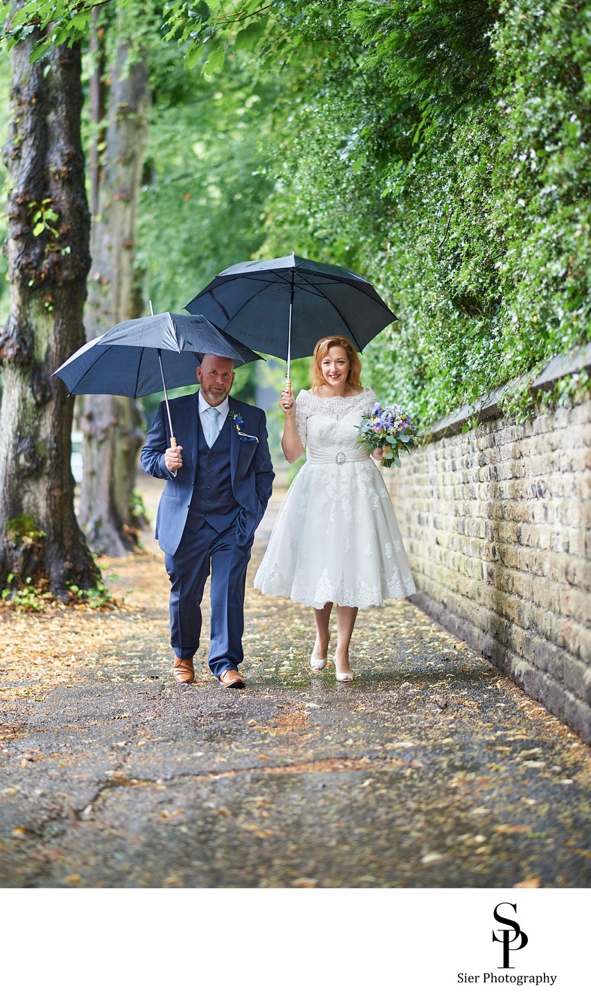 Kenwood Hall Rainy Day Wedding