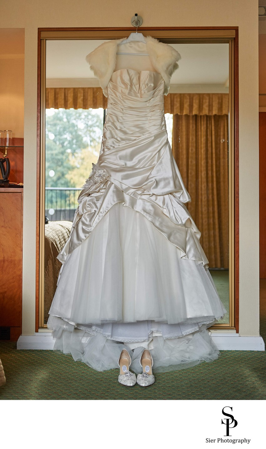 Wedding Dress at Kenwood Hall