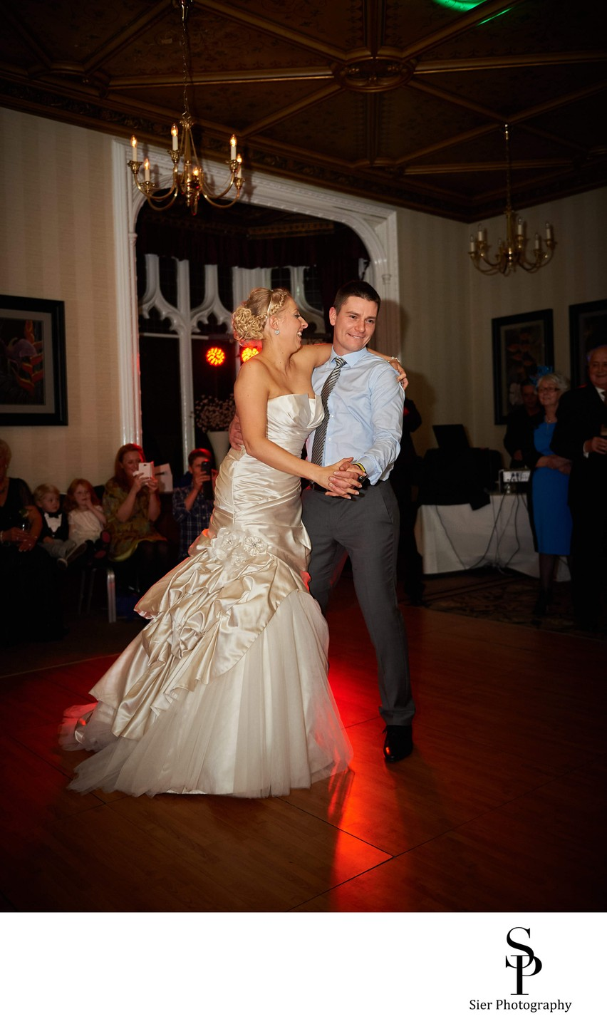 First Dance Kenwood Hall Hotel Sheffield Wedding