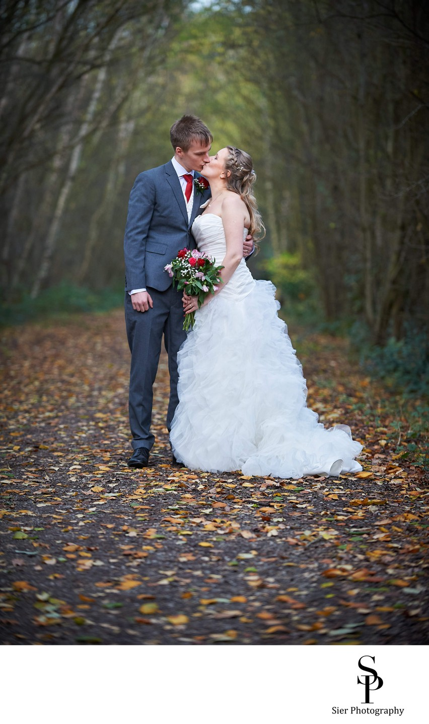 Rother Valley Bride and Groom Wedding Photo