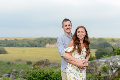 Derbyshire engagement photography