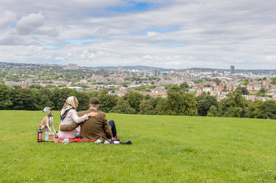 Sheffield Engagement photography Pete McKee inspired