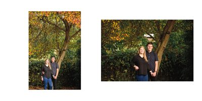 Botanical Gardens Engagement Pictures