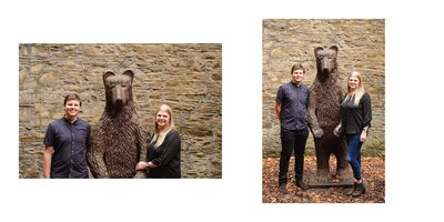 Engagement Photography Sheffield with Mr Bear