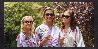 Bridesmaids in Shades