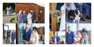 Woodland Discovery Centre Wedding Ceremony