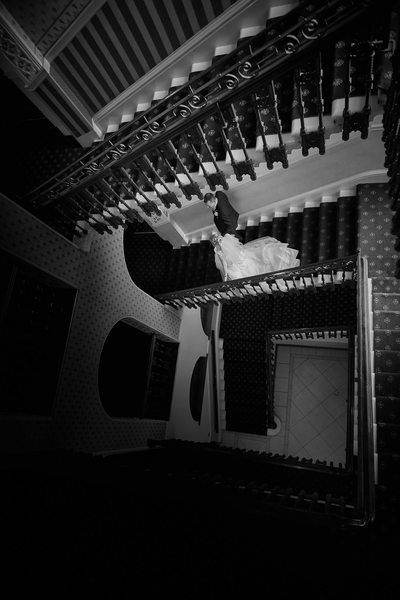 Wedding Photographer Sheffield Royal Victoria Stairs