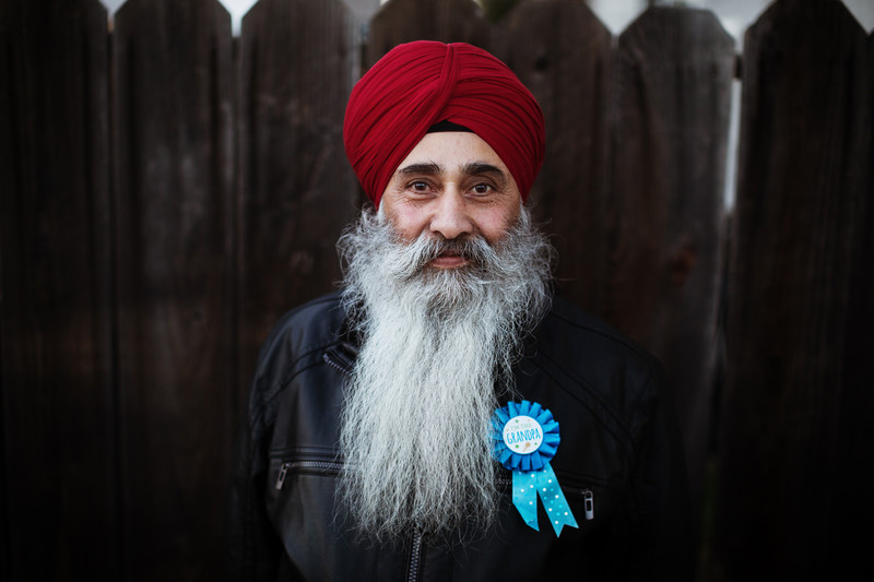 sikh grandfather