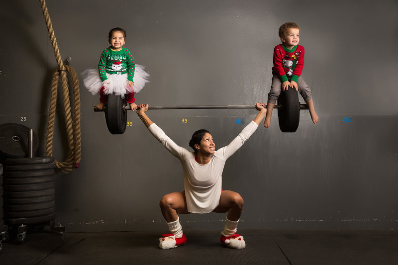 crossfit family photo