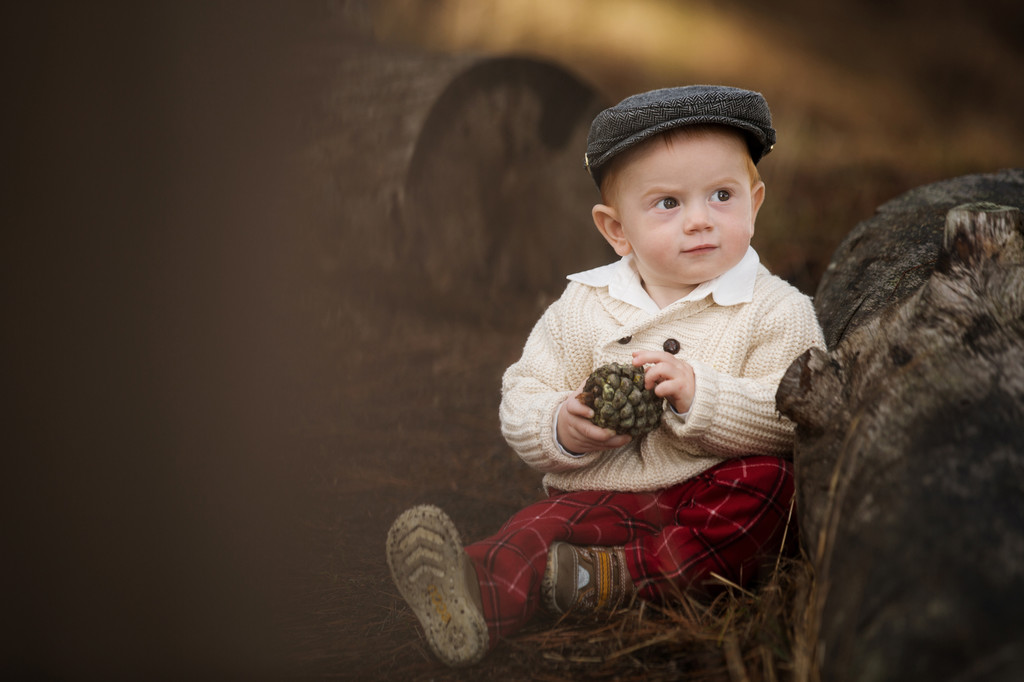 1-year-old-boy-cute-outfit-pinecone