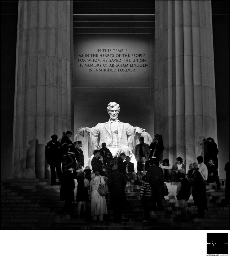 Obama Election Lincoln Memorial
