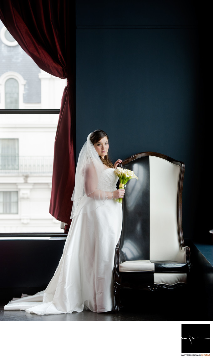 W Hotel DC White House Wedding Photo