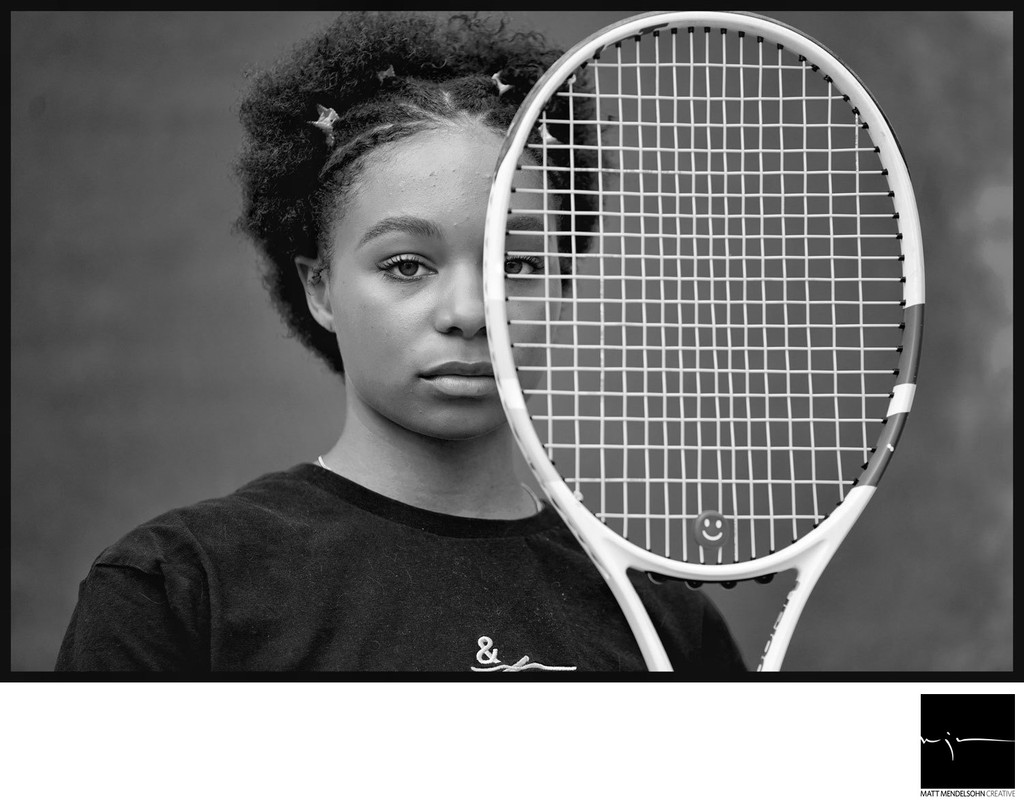 Tennis Senior Portrait