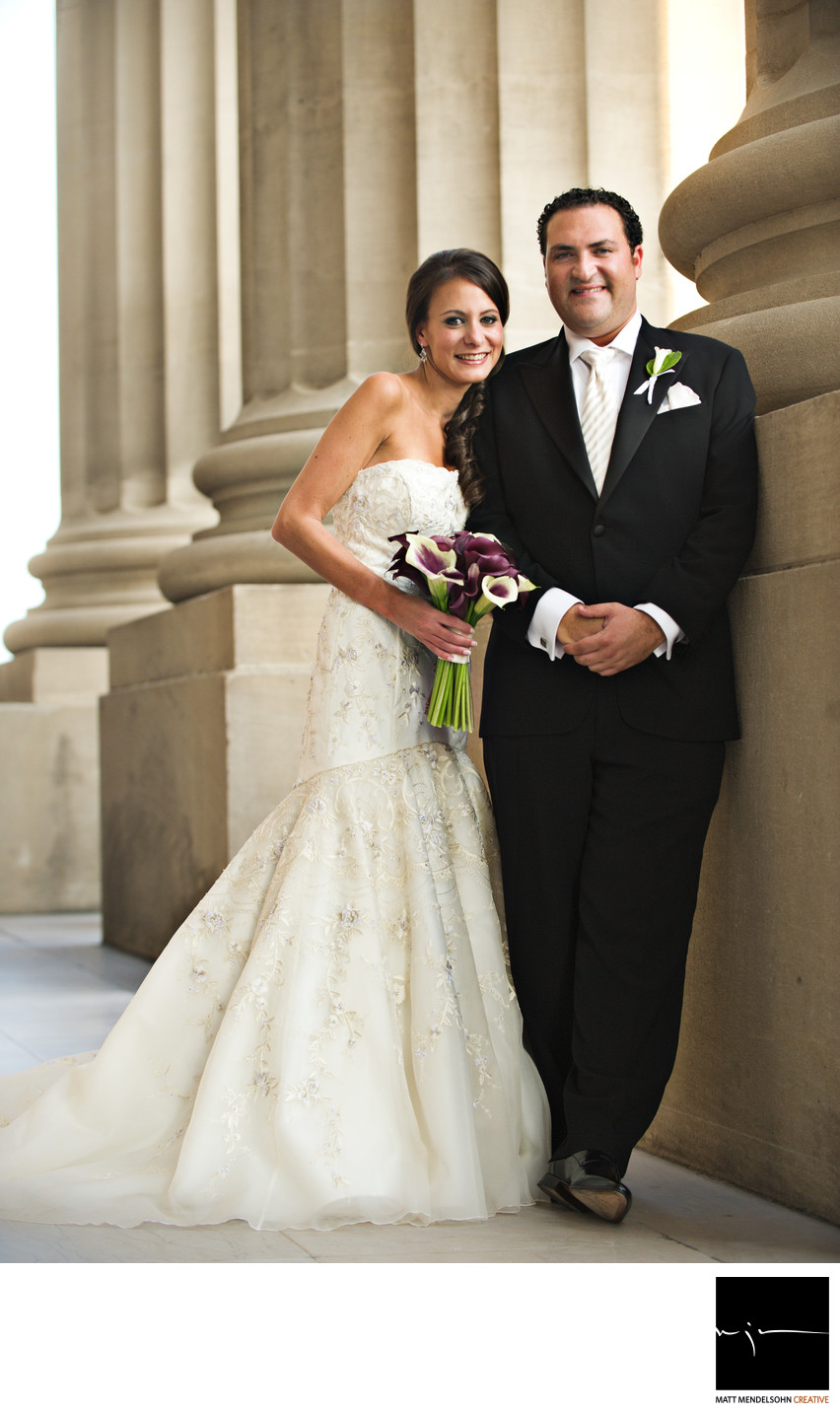 Mellon Auditorium Wedding Photographer
