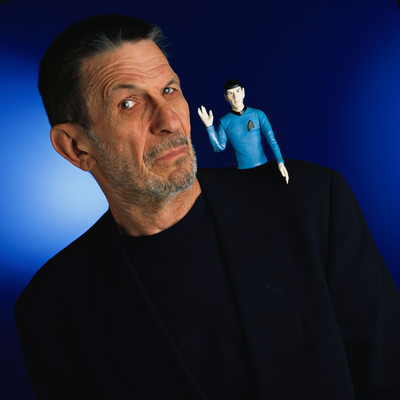 Celebrity Photography Leonard Nimoy