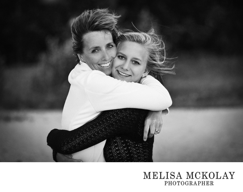Mother Daughter High School Senior Portrait | NMi