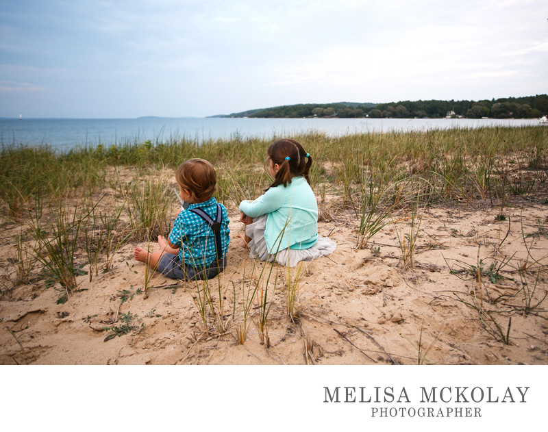 Contemplation | Outdoor Beach Portrait | TC, MI