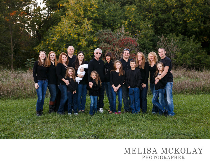Gangs All Here | Multi-Family Portrait | TC, MI