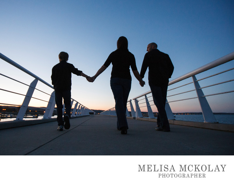 Into The Sunset | Family Portrait | Clinch Park Marina
