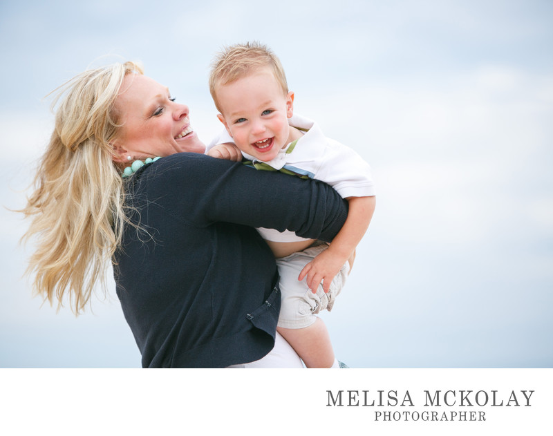 Happiness | Mother & Son Portrait | Northern Michigan