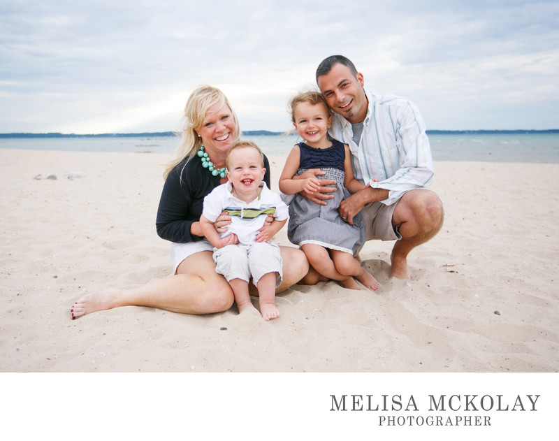 The Beach Portrait | Family Photography | NMi