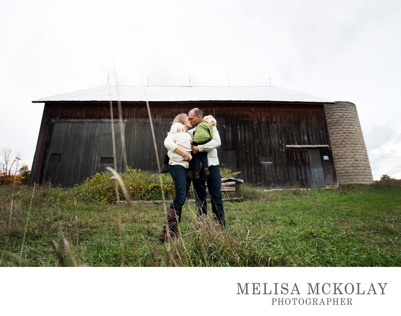 True Love | Family Photography | Leelanau County Barns