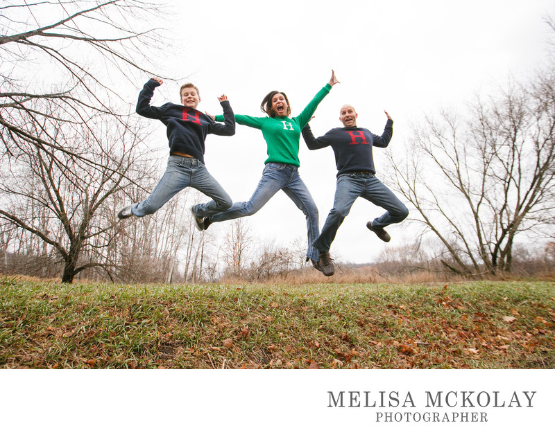 JUMP! | Fun Original Family Photography | Northern Mi
