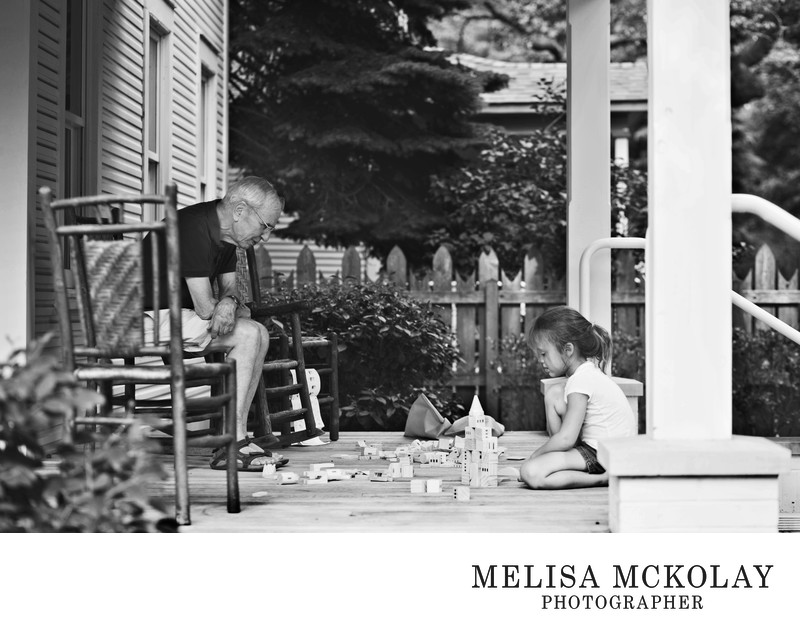 Porch Life | Family Photojournalism | Northern MI