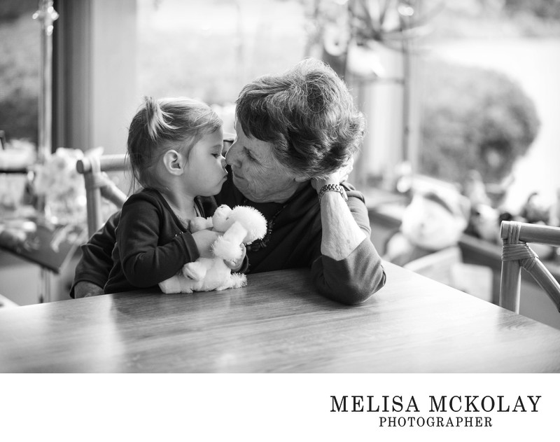Eskimo Kisses | Family Photojournalism | TC, MI