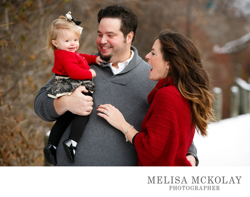 She Is So Adored | Christmas Mini Session | TC, Mi