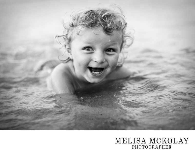 Lil Swimmer | Documentary Portraiture | Northern MI