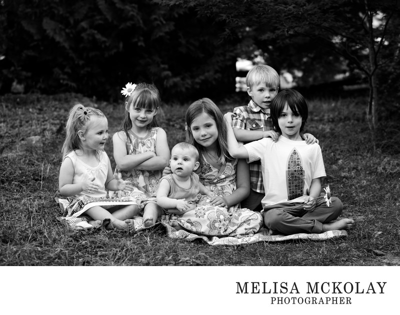 Personalities | Cousin Reunion Portrait | Northern MI