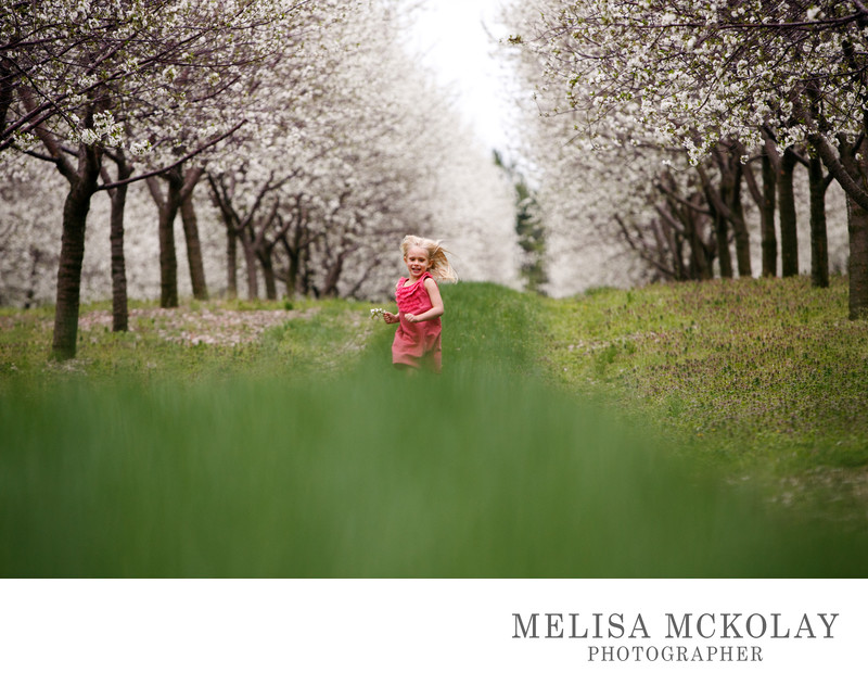 Blossom Run | Documentary Portrait Photography | TC