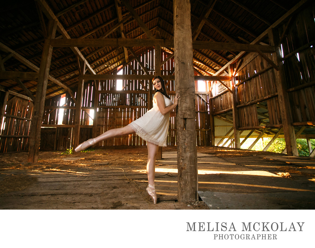 Kennedy | Unique Senior Portrait Dancer Ballet | TC