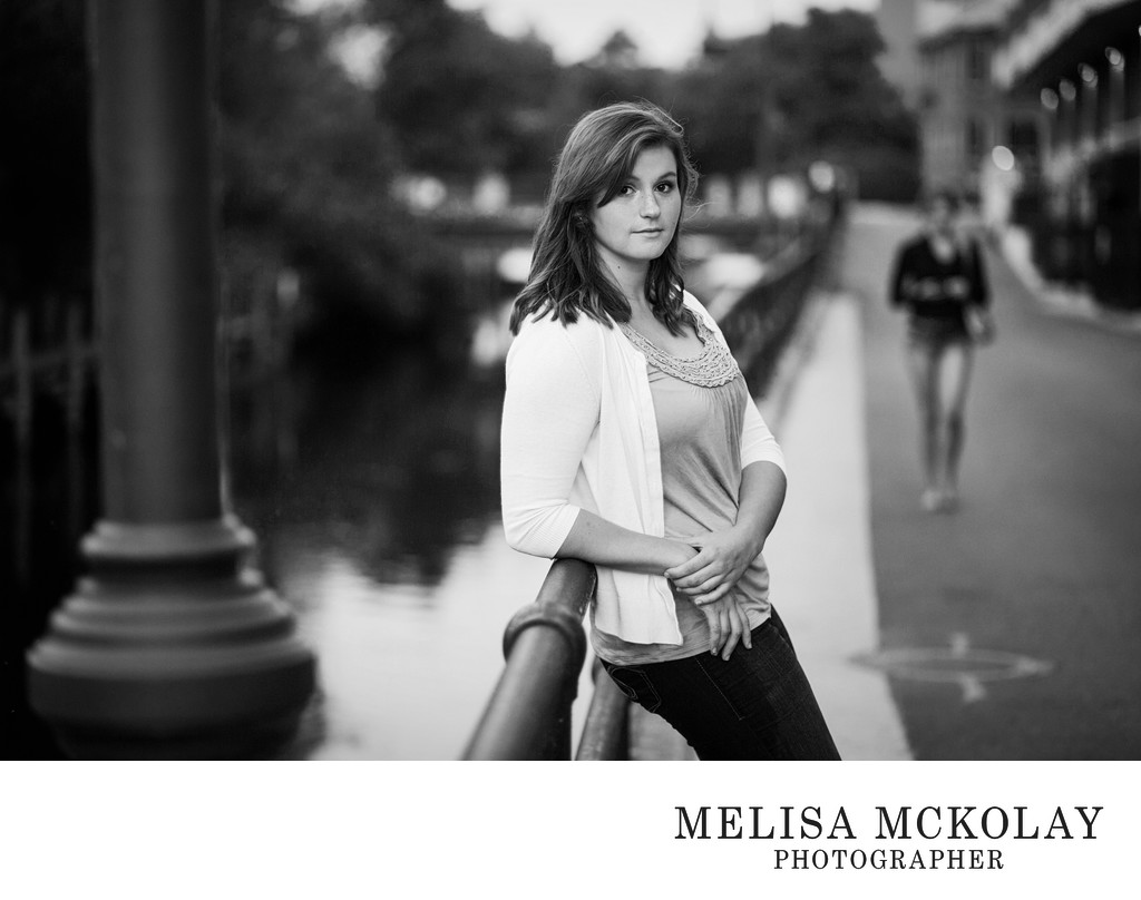 Jenna | Senior Portrait Street Photography | NMi