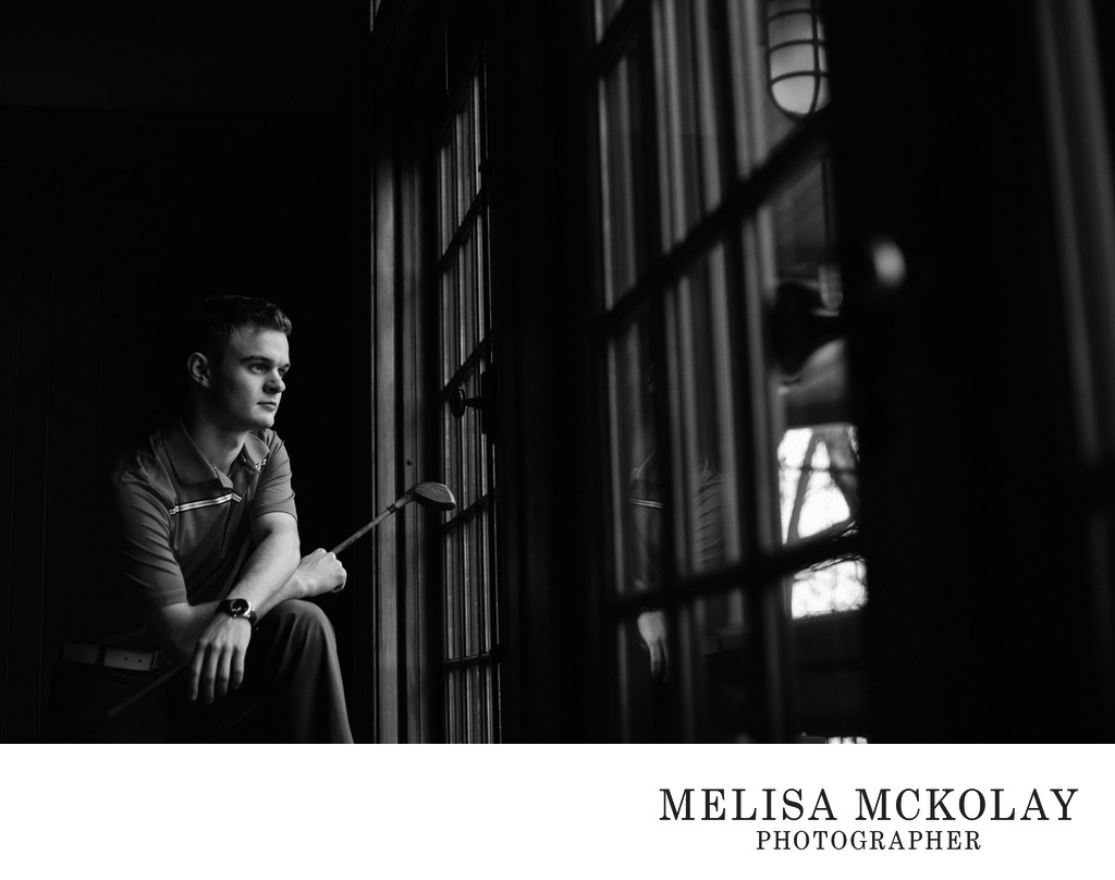 Silas | BW Fine Art High School Portrait | Leelanau