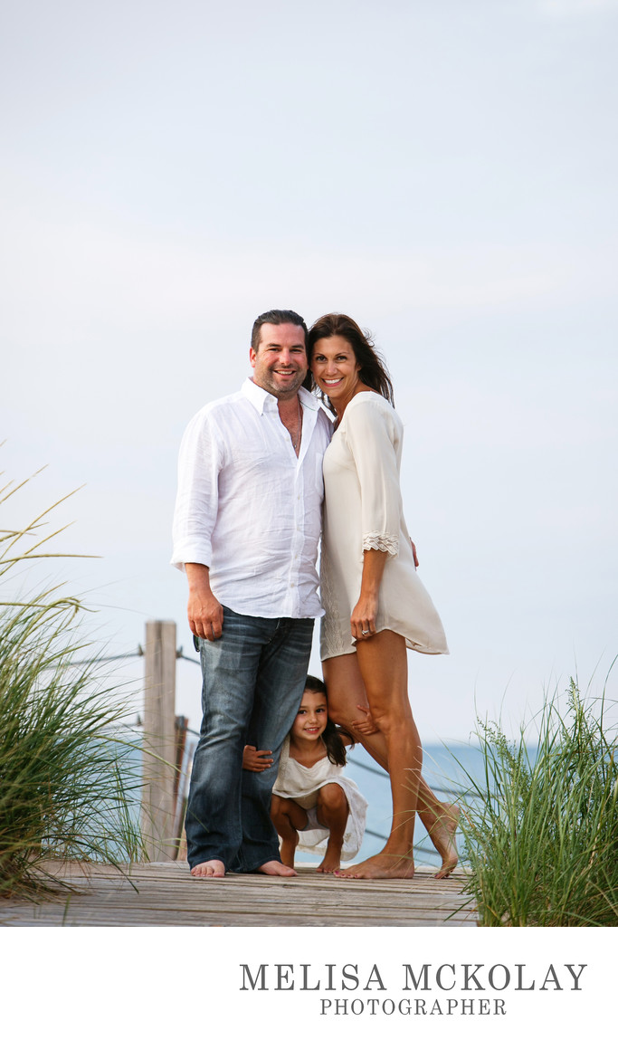 Peekaboo | Family Portrait Photography |  Lake Michigan