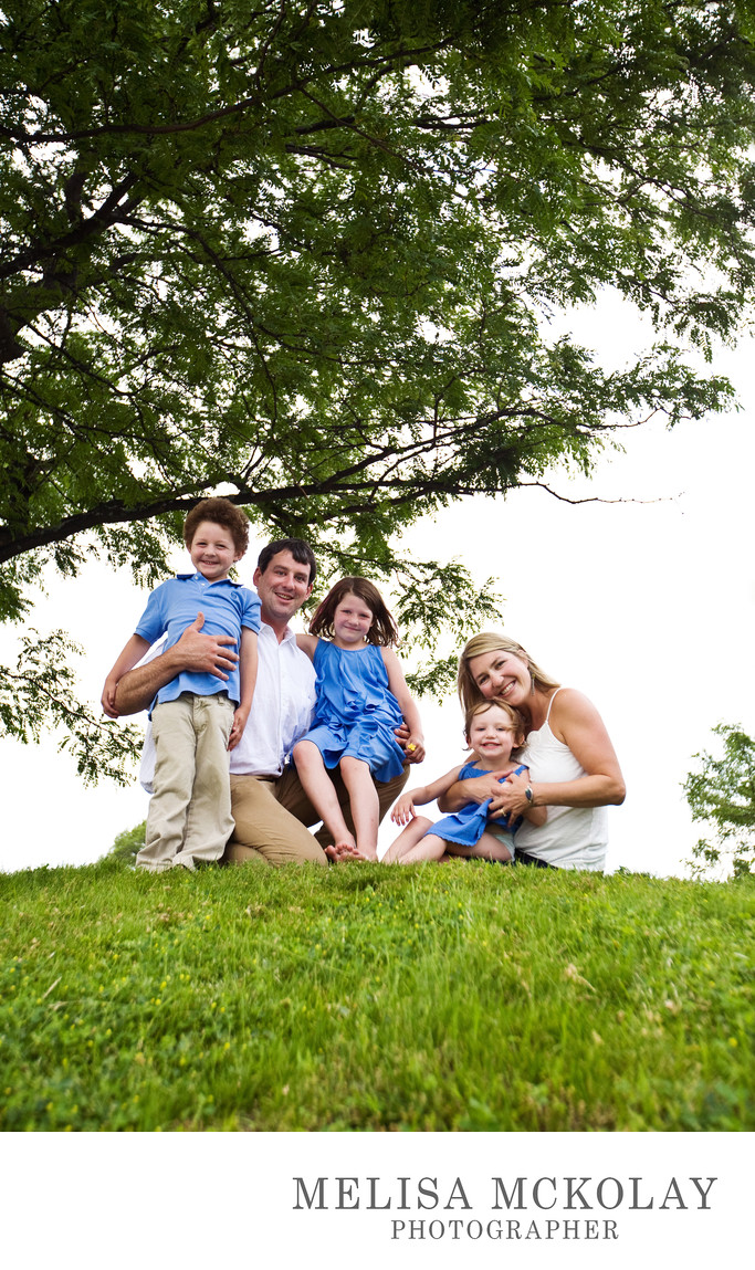 Happy Together | Outdoor Family Portrait | TC, Mi