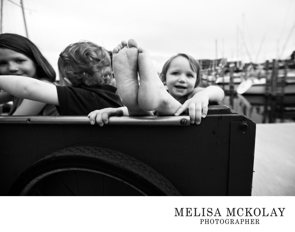 Chillin' | BW Family Photojournalism | Northern MI
