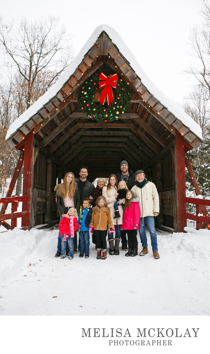 Merry Christmas | Holiday Family Portrait | Northern MI