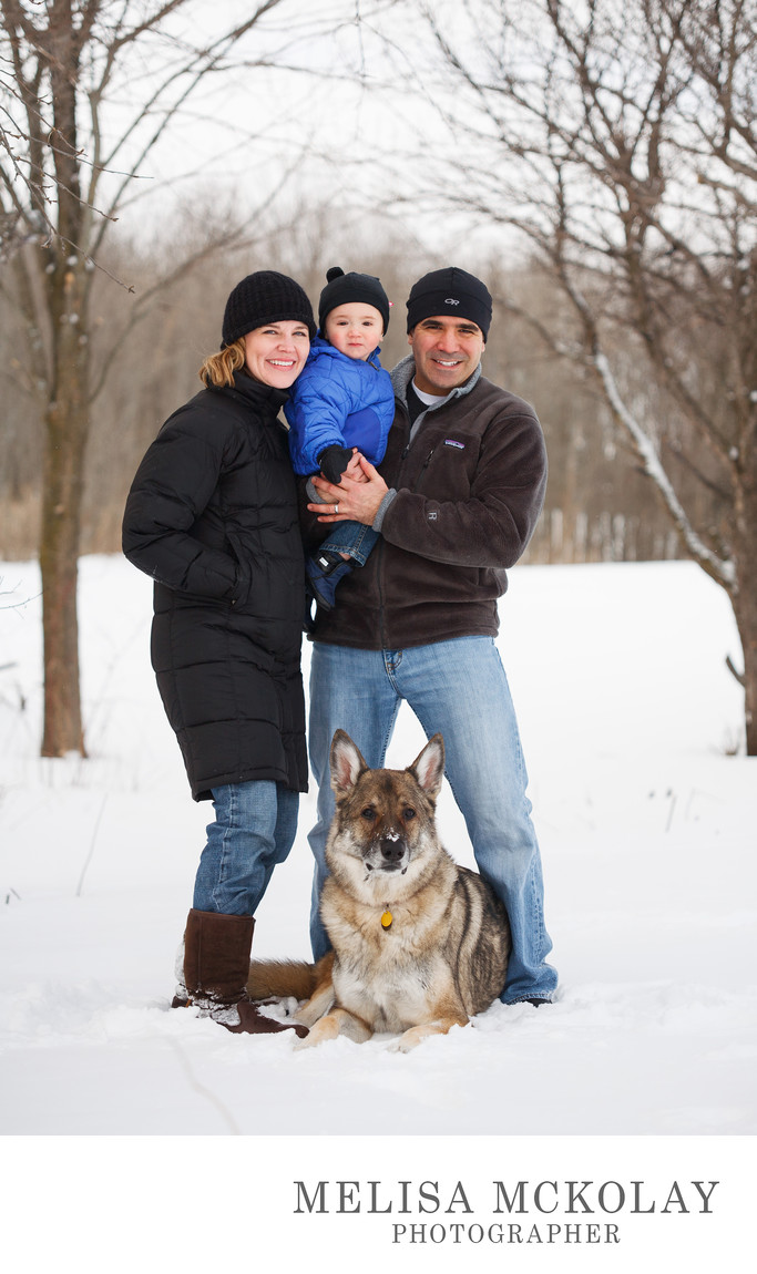 Winter Wonderland | Family Pet Photographer  | NMi