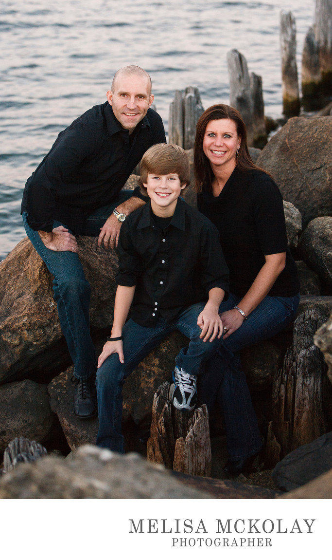 Christmas Card | Family Portrait | Traverse City, Mi