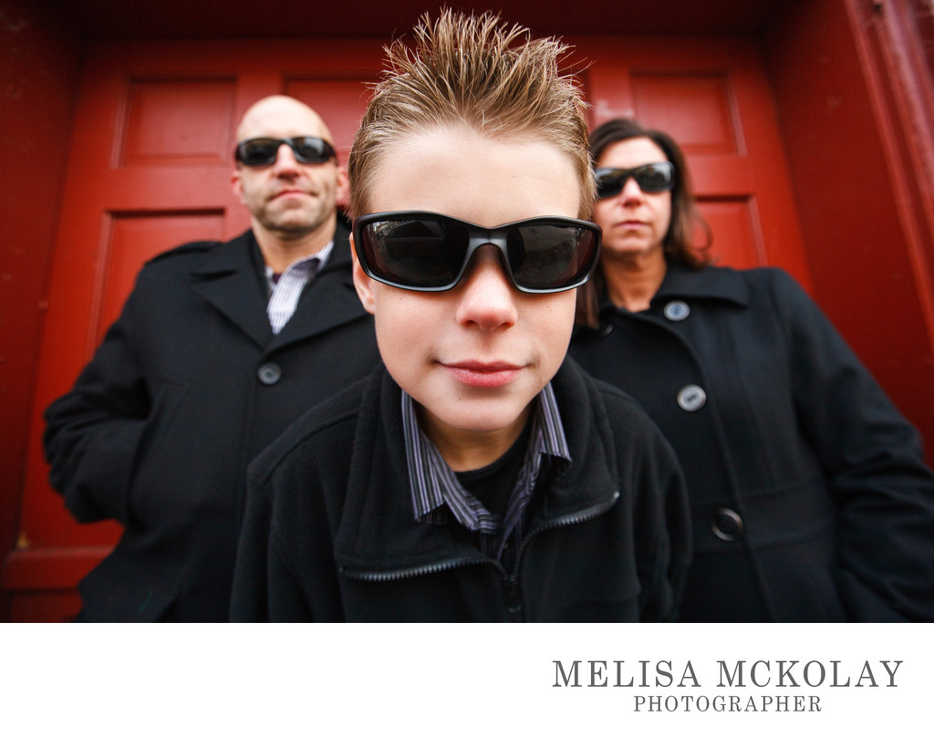 Men In Black | Fun Family Photography | TC, MI