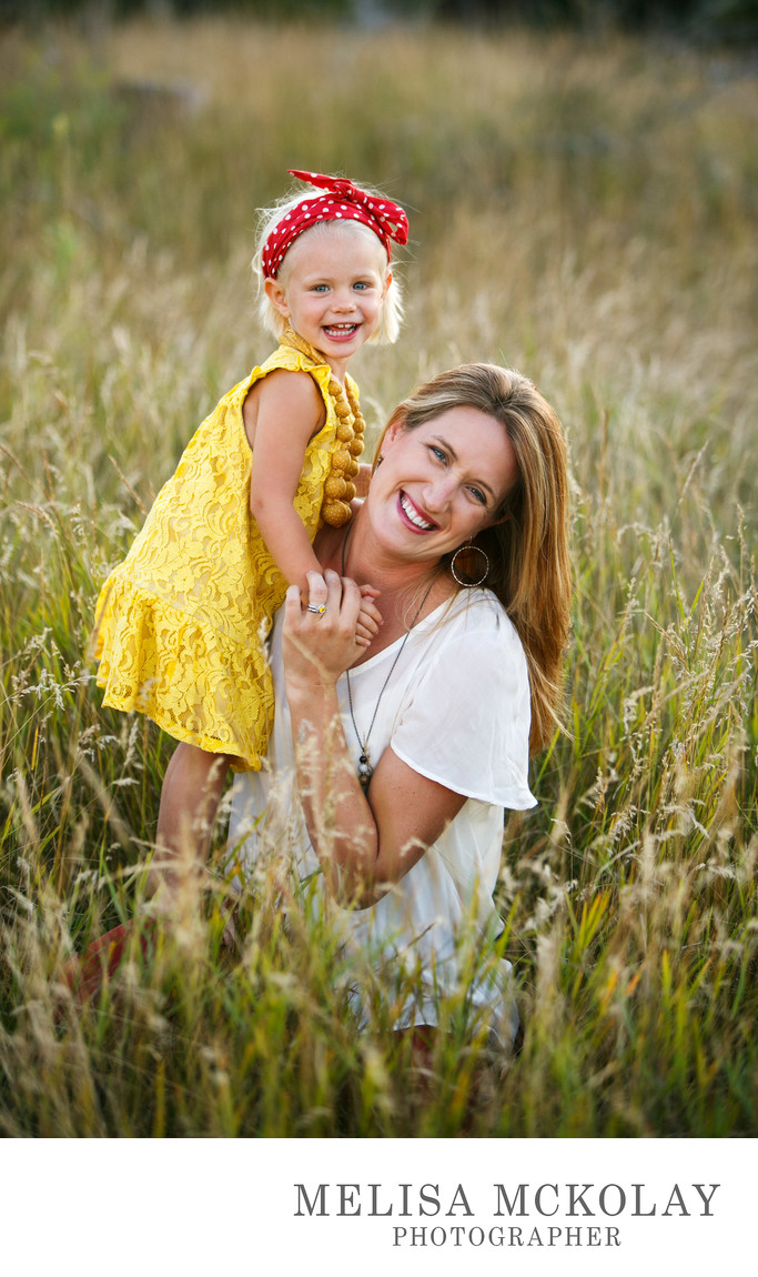 The Girls | Mother Daughter Portrait | Leelanau County