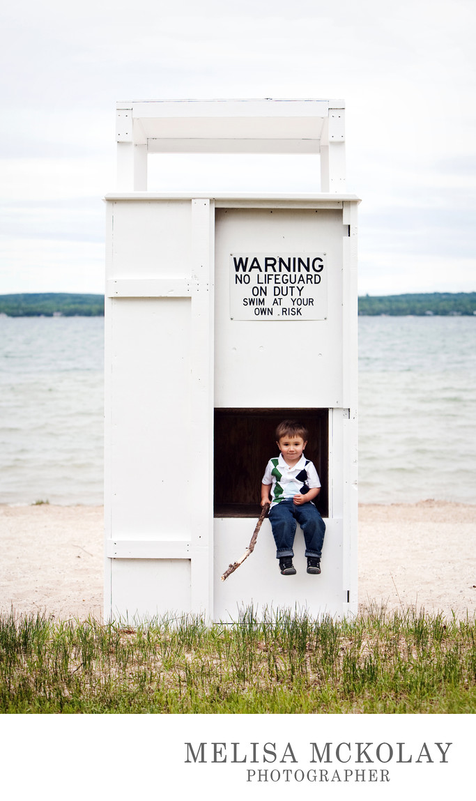 Future Lifeguard | Beach Session | Lake Charlevoix