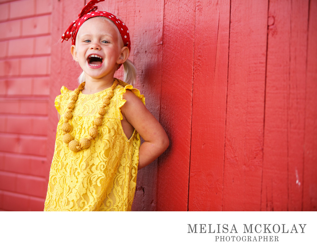 Hahahaha | Happy Kids Portrait Photography | NMi